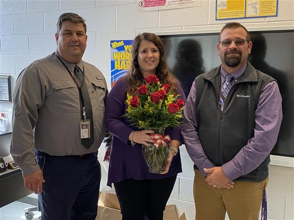 Congratulations Kari Groce 2019-2020 Chattooga County Teacher of the Year